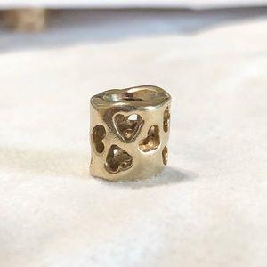 Pandora 14k gold charm (retired)